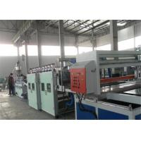 Buy cheap 55Kw WPC PVC Crust Plastic Board Production Line / Foam Sheet Extrusion Line product