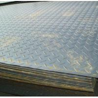 Buy cheap Galvanized / galvalume ASTM A36, Q235B, Q345B Hot Rolled Checkered Steel Plate / Coils product
