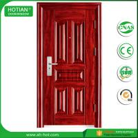 Buy cheap Ce High Quality Swing Security Steel Door Made In China Standard Size of Main Gate Modern American Steel Door product