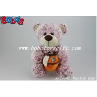 "Buy cheap 12""Red Flower Plush Fabric Teddy Bear With Honey Pot As Grils Toys product"