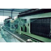 Buy cheap Custom Wire Netting Hexagonal Mesh Machine For Construction , 3300mm Width product