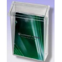 Buy cheap Acrylic Wall Mounted Brochure Holders With Beautiful Shape product