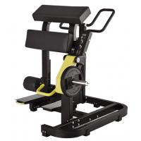 Buy cheap Standing Leg Curl Gym Fitness Equipment 3mm Steel Tube With Customized Color product