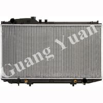 Buy cheap Hard Brazing Toyota Aluminum Radiator , Lexus Ls430 Radiator Oem 16400-50280 Dpi 2541 2575 product