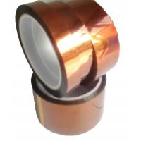 China Dark Brown Polyimide Film Tape With Low Electrostiatic Discharge Properties on sale
