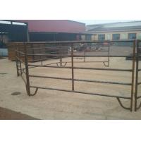 Buy cheap Low Carbon Steel Cattle Fence Panels 1.8m High With Square / Oval / Round Tube product