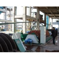 Buy cheap Sludge Dewatering Rotary Disc Filter , Vacuum Filtration System PLC Control product