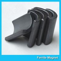 Y30BH Grade Ferrite Arc Magnet For Water Pumps Strong Hard Ferrite Magnets for sale