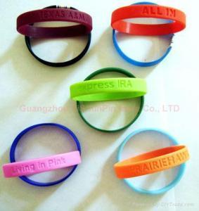 Soft pvc bracelet