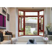 Buy cheap Energy Efficient Aluminium Casement Windows With Tempered Glass product