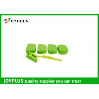 Buy cheap Kitchen Home Cleaning Tool Dish Cleaning Pads With Long Handle Green Color product