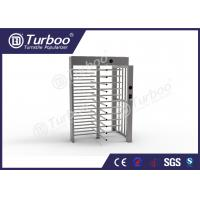 Buy cheap Full Height Gate , Turnstile Security Products 30 Persons / Min Transit Speed product