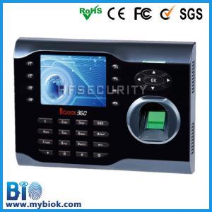 Tiempo biométrico y Attendace BIO-Iclock360 de la huella dactilar