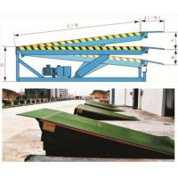 Buy cheap High Efficiency Hydraulic Dock Leveler Loading Dock Platform DCQ6-0.70 product