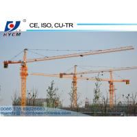 China 5612 6ton Hammerhead Tower Crane 56m Jib Construction Tower Crane with Schneider on sale