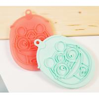 Quality Colorful harmless soft silicone gel Body Bath Shower Skin Cleaning Massager for sale