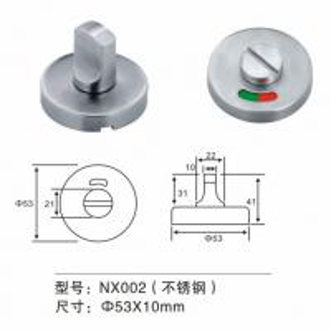 Buy cheap Stainless Steel Thumb Turn Door Knob Door Fitting Hardware For Washroom Door product