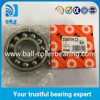 Quality Nylon Cage Double Row FAG Self-aligning Ball Bearing 2306-TVH C3 for sale