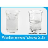 China Preservatives Anesthetic Benzyl Alcohol CAS100-51-6 Colorless Transparent Liquid wholesale