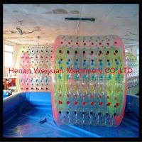 Quality new type funny kid walking water balls inflatable water roller with pvc/tpu material for sale
