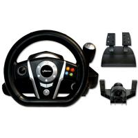 China All In One Racing Video Game Steering Wheel Wired PC USB For P4/P3/PC/XBOXONE/XBOX360 on sale
