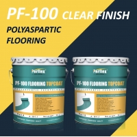 Buy cheap 5L 10L 20L Package Transparent Polyaspartic Floor Coating product