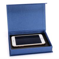 Buy cheap Fancy Cell Phone Accessories Packaging Box Blue Color Clamshell Style product