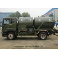 Buy cheap Heavy Duty Septic Vacuum Trucks For Oilfield / Fecal / Sewer Cleaning product