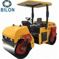 Buy cheap High Efficiency Vibratory Road Roller 3 Ton 21KW Hydraulic Road Roller product