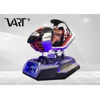 China 9d VR Driving Simulator Real Track 9D VR Car Game Racing Simulator Stable Software on sale