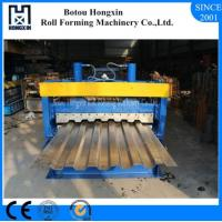Buy cheap Galvanized Plate Cold Roll Forming Machine For Container Panel ISO Approval product