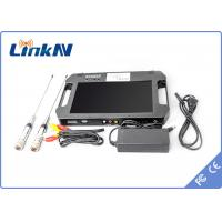 Buy cheap Digital Portable Video Receiver / COFDM Receiver With 10.1 Inch LCD Screen product