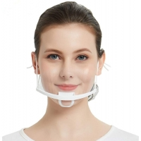 Buy cheap Earloop Style Transparent Plastic Face Cover For Chef product