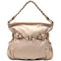 Quality fashional plain style polyester lady handbag for sale
