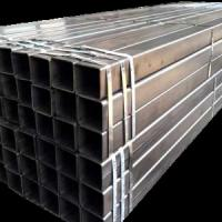 China High Stiffness Schedule 40 Steel Tube , Durable Flat End Hollow Square Pipe on sale