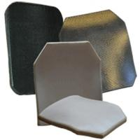 Buy cheap lightweight PE material Ceramic Ballistic bullet proof plate inserts armor vest product