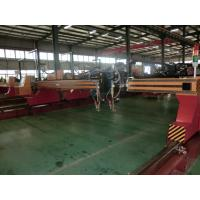 Buy cheap Automatic Cnc Flame Cutting Machines , Metal Steel Cutting Machine With Worktable product
