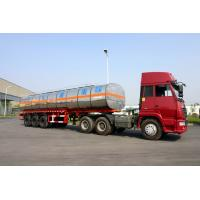 Buy cheap 40800L Fuel Crude Oil Semi Tanker Trailer For Petroleum 40.8cbm 3 Axles product