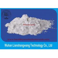 Buy cheap CAS 62-44-2 Painkiller Local Anesthetic Drugs Phenacetin White Raw Powder product