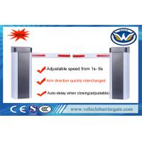 Buy cheap Adjustable Speed Auto Barrier Gate System 100m Remote Control Distance 210W from wholesalers