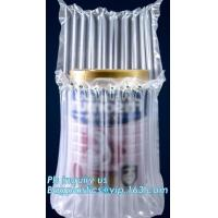Buy cheap air cushion pillow bags, inflatable air filled pillow bag, shockproof recycable air pillow glass bottle bag, bagplastics product