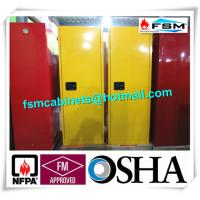 Fireproof Industrial Safety Cabinets , Chemical Storage Cupboards For Flammables
