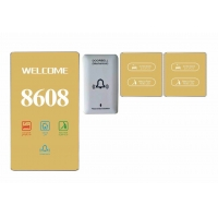 Buy cheap Hotel Electronic Door Number Door Plate Number Signs From CHINA product