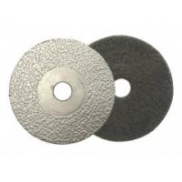 China Vacuum Brazed Diamond Polishing Pads , Diamond Grinding Disc For Concrete Polishing on sale