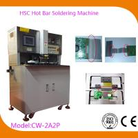 Buy cheap USB Automatic Hot Bar Soldering Machine with 0.02mm Welding Head Flatness , CW-2A2P product
