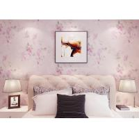 Buy cheap Romantic Light Living Room Wallpaper Soundproof For Home Decoration , SGS Compliant product