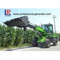 Buy cheap 1 Ton Load Telescopic Boom Mini Wheel Loader With 37kW Yunnei Engine product