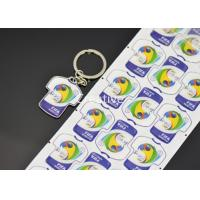 Buy cheap Keychian 3D Domed Labels Polydome Clothes Shape Key Ring Epoxy Resin Stickers product