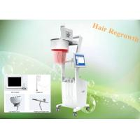 China Stationary Style Laser Hair Growth Machine / Low Level Laser Hair Restoration Equipment wholesale