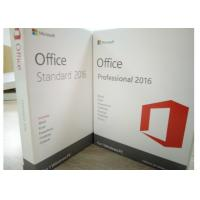Quality Genuine MS Office Professional 2016 Product Key , Microsoft Office 2016 Activation Code for sale